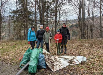 420 worków ze śmieciami. Wisła podsumowała majowe sprzątanie Beskidów