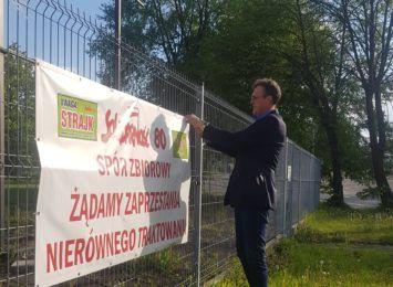 """""""Zdejmujemy banery. Porozumienie zostało osiągnięte"""". Koniec strajku w WORD Katowice"""