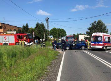 Gaszowice: 2 osoby poszkodowane w wypadku