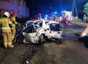 Wypadek w Gaszowicach. Sprawcą 18-latek pod wpływem alkoholu