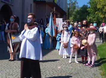 Boże Ciało u Franciszkanów w Rybniku [FOTO]