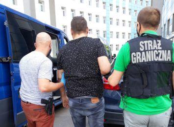Śląska Straż Graniczna zaangażowana w ujęcie członków zorganizowanej grupy przestępczej