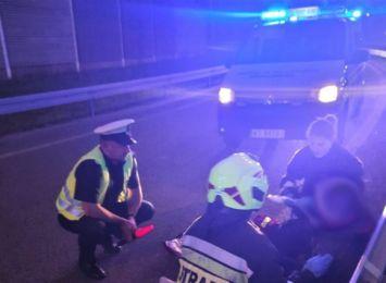 Wiemy więcej o wypadku motocyklisty w Stanowicach. Kierujący był pod wpływem alkoholu
