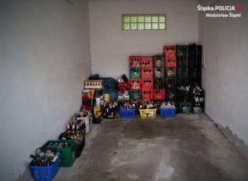 Sprzedawali alkohol bez koncesji w Wodzisławiu Śląskim