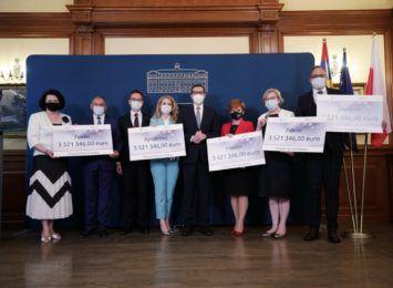 Rydułtowy i Cieszyn otrzymały miliony euro z Funduszy Norweskich