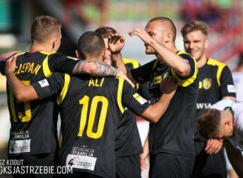 Piłkarze GKS-u Jastrzębie utrzymali się w pierwszej lidze. Pokonali GKS Bełchatów