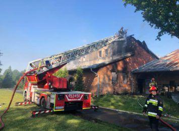 Pożar w Stanicy opanowany. W zakładzie, w którym produkowane są opakowania foliowe [AKTUALIZACJA]