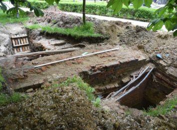 W Raciborzu zbadali mury obronne. Koniec prac archeologicznych na Gimnazjalnej