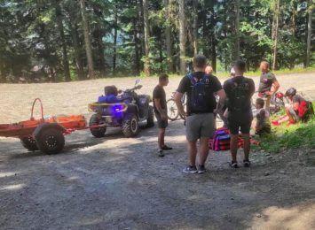 GOPR w Beskidach: Kolejny pracowity weekend