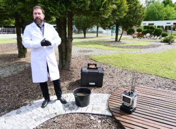 Nowoczesne urządzenie do kontroli ścieków w Jastrzębiu. Innowacja dla oczyszczalni [FOTO, WIDEO]