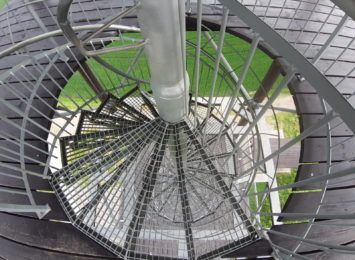 Pomysł na weekend: Graniczne Meandry Odry widziane z wieży w Krzyżanowicach [FOTO]