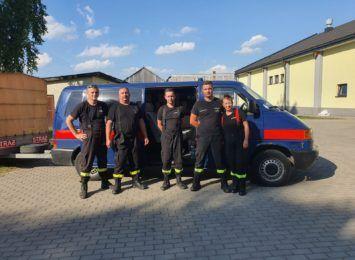 Strażacy z Cieszyna pomagają pogorzelcom z Nowej Białej [FOTO]