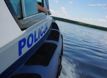 Po utonięciu 52-latka w Zalewie Rybnickim policja apeluje o rozwagę nad wodą