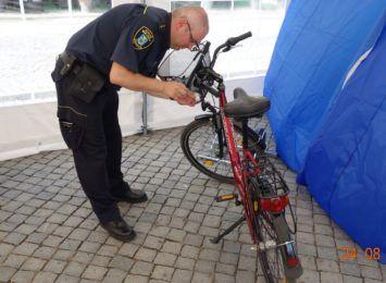Cieszyńska Straż Miejska przypomina o znakowaniu rowerów