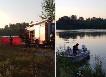 Samochód stoczył się do stawu w Roszkowie, nie żyje 34-latka
