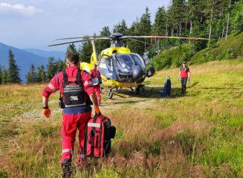 GOPR apeluje o ostrożność i rozwagę w górach. Wczoraj pomagali głównie nastolatkom