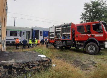 Zakończyły się prace przy wykolejeniu dwóch wagonów pociągu w Czerwionce-Leszczynach