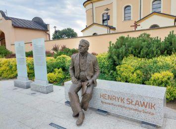 Pomnik Henryka Sławika powstał w Jastrzębiu-Zdroju. Uroczyste odsłonięcie już dziś