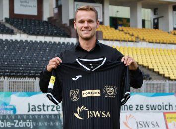 Konrad Handzlik nowym piłkarzem GKS-u Jastrzębie