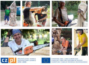 Plener rzeźbiarski w Gołkowicach. Artyści z piłami stworzą swoje dzieła