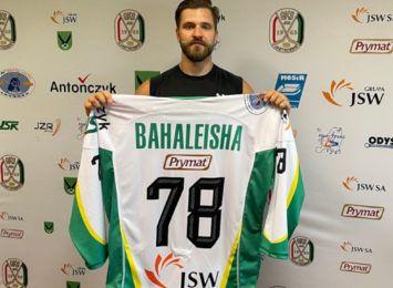JKH GKS Jastrzębie ma kolejnego zawodnika. Kontrakt z klubem podpisał Siarhei Bahaleisha
