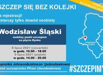 Mobilny punkt szczepień od czwartku do piątku w Wodzisławiu