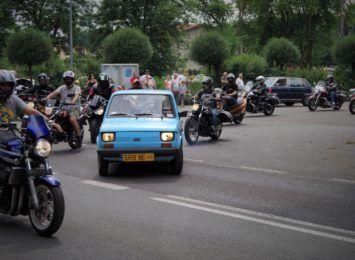 Parada motocykli rozpoczęła Motorockowisko 2021 w Rybniku- Kamieniu [FOTO]