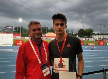 Patryk Grzegorzewicz, lekkoatleta z Raciborza, jedzie na Igrzyska Olimpijskie do Tokio