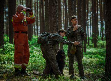 Grupa Poszukiwawczo-Ratownicza z psami weszła oficjalnie w struktury śląskich terytorialsów