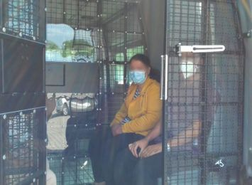 Obcokrajowcy zatrzymani przez funkcjonariuszy Straży Granicznej w Hażlachu
