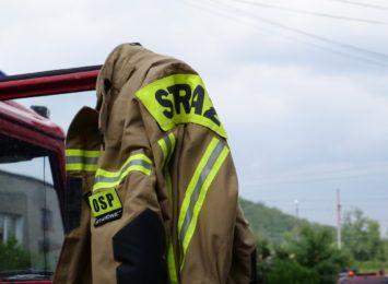 Zalane piwnice, drogi i szkoła. Interwencje strażaków w regionie