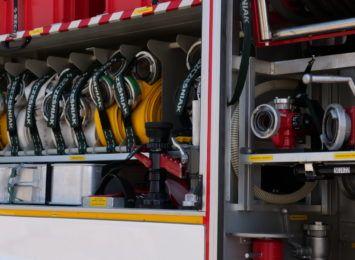 Pożar kotłowni w Jankowicach. Spaliła się pompa ciepła