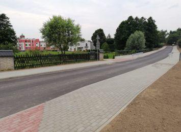 Ulica Tuskera w Mszanie gotowa dwa miesiące przed czasem
