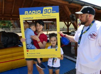 Studio plenerowe Radia 90: Rodzinne wakacje w Twinpigs w Żorach [WIDEO,FOTO]