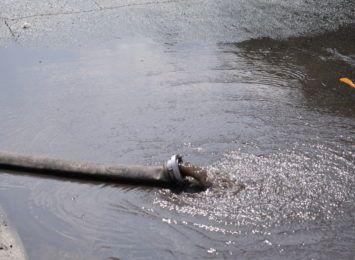 Wczoraj mocno padało na raciborszczyźnie. Interweniowali strażacy