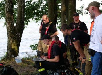 Wznowiono poszukiwania 52-latka w Zalewie Rybnickim