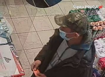 Żory: Policja szuka złodzieja. Skradł pieniądze z konta bankowego [FOTO]