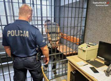 Wodzisławska policja po pościgu zatrzymała złodzieja samochodu