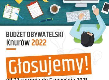 Mieszkańcy Knurowa głosujcie! Na co wydacie pieniądze z budżetu obywatelskiego?