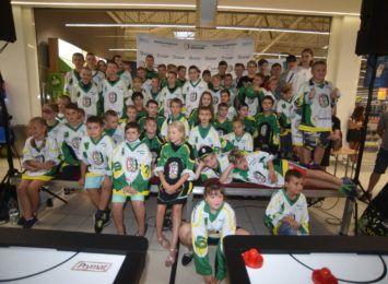 JKH GKS po prezentacji grup młodzieżowych. Klub hokejowy chwali się swoimi wychowankami [FOTO]
