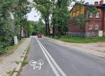 Nowy kontrapas dla rowerzystów w Rybniku-Niedobczycach [FOTO]