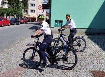 Straż miejska w Cieszynie bardziej mobilna dzięki elektrycznym rowerom