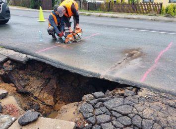 Utrudnienia w Wodzisławiu. Robotnicy uszkodzili wodociąg