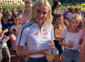 Racibórz przywitał medalistkę Justynę Święty- Ersetic [LIVE]