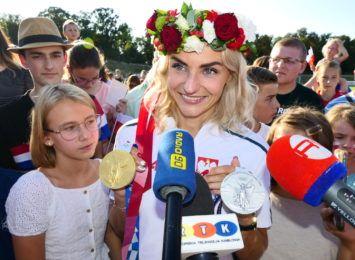 Złota Justyna z kolejnym medalem