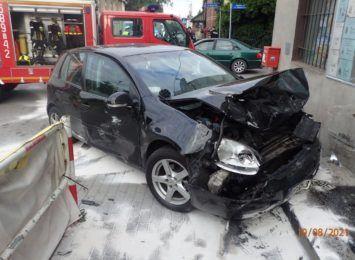 Czerwionka-Leszczyny: Wypadek na ulicy Zabrzańskiej [FOTO, AKTUALIZACJA]
