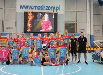 Piłkarki ręczne MTS-u Żory zaprezentowały się swoim kibicom