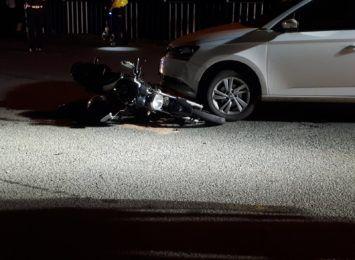 Wypadek w Krzanowicach. Kierowca osobówki nie ustąpił pierwszeństwa [FOTO]