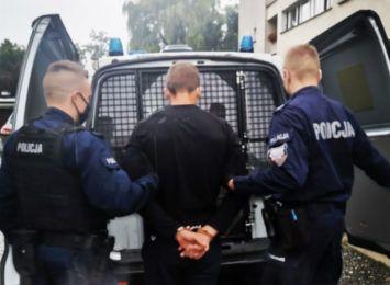 Za seryjne kradzieże odpowie przed sądem. 27-letni jastrzębianin trafił do aresztu