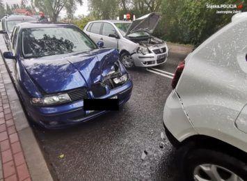 Ku przestrodze dla kierowców. Szczegóły zdarzenia na Cieszyńskiej w Jastrzębiu